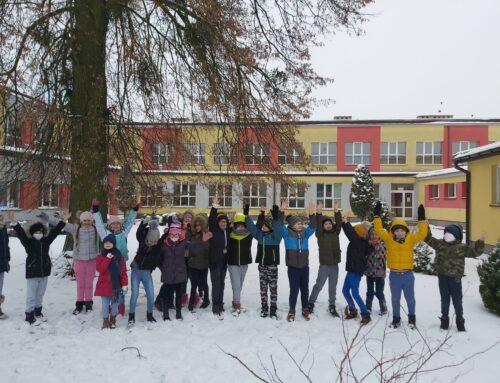 Zabawy na śniegu klasa IIa